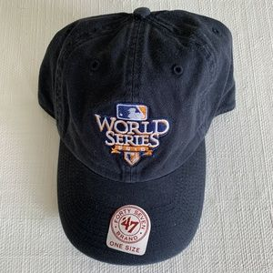 2010 World Series Hat Giants vs Rangers NWT